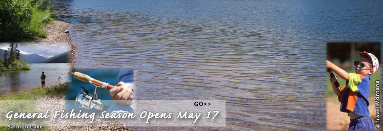 Fishing Season Banner created for FWP Home Page